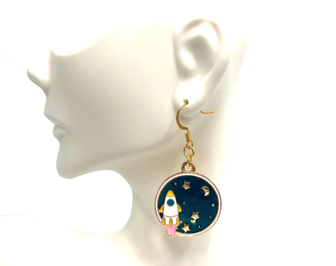 LIGHTYEAR: rocket drop earrings
