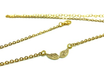 ANGEL: delicate angel wing necklace