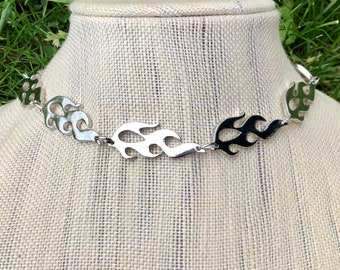 FLAME: stainless steel flame choker