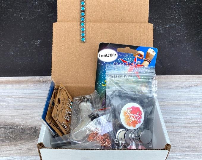 Jewelry Making Supplies: Small Random Grab Box