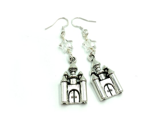 DREAMLAND: castle and star earrings