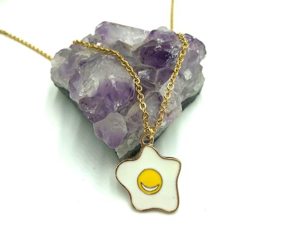 EGG: adorable egg necklace