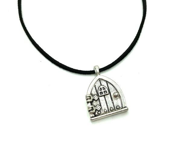 FAIRY LOCKET: fairy door locket necklace