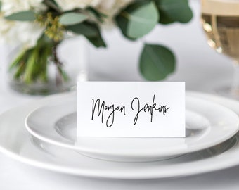 Wedding Placecards | Printable Name Cards | Table Cards | DIY Modern Wedding |  Escort cards | ELLIE