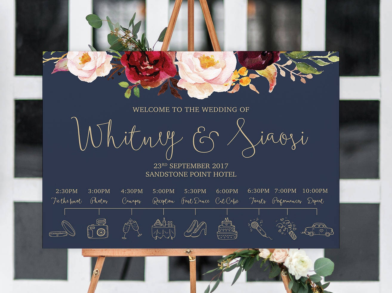 Fantastic Welcome Speech For Wedding Reception Motif Blue Wedding