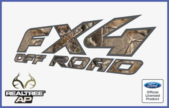 F Truck Super Duty Off Road Bed 1999 Ford F250 FX4 OffRoad Decals Stickers