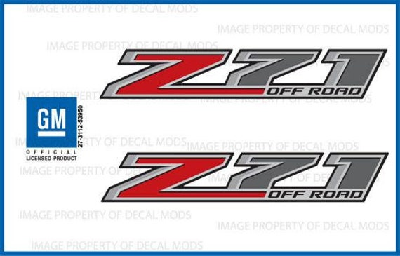 F stickers Parts Chevy Silverado GMC Sierra Truck Bed 4x4 2-2014 Z71 Decals