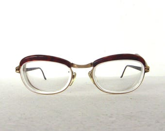 France 60 Lunettes Neuf Amor W Stock Ancien BronzeEtsy Or Rempli A4RL5j