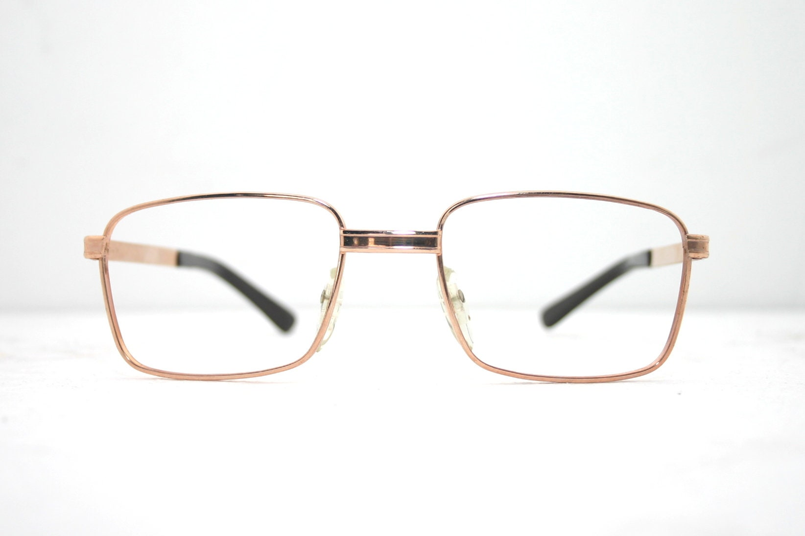 68d3f04c385 Men s Vintage Eyeglasses Classic 60 s Metallic Eye