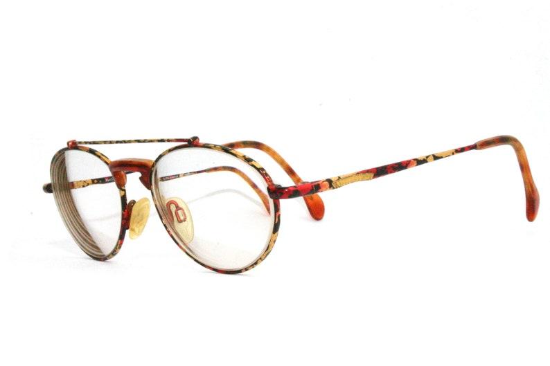 Marc O' Polo Eyeglasses By Metzler Retro Frame FREE SHIPPING Medium Women's Lady Eye Glasses Outdoorsman Jungle 53-18-135