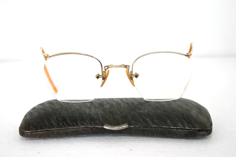 8d508c7655a7 Arcway FulVue Stamped Eyeglasses Frame Spectacles Gold Filled