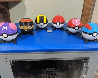 3D Printed Functional Pokeballs!