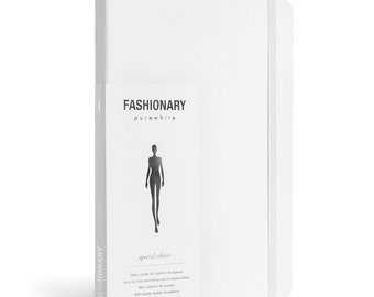 Artist Sketchbook | Fashionary Pure White A5 Womens Sketchbook