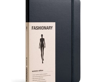 Fashion Designer SKETCHBOOK | Fashionary A5 Mens Sketchbook