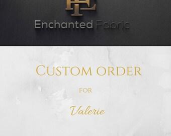 Custom Order for Valerie - 150 yds of White Chiffon | 150 yds of Ivory Chiffon plus shipping