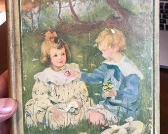 The Bobbsey Twins from 1904 by Laura Lee Hope . 1904 The Bobbsey Twins . Antique book . Vintage book
