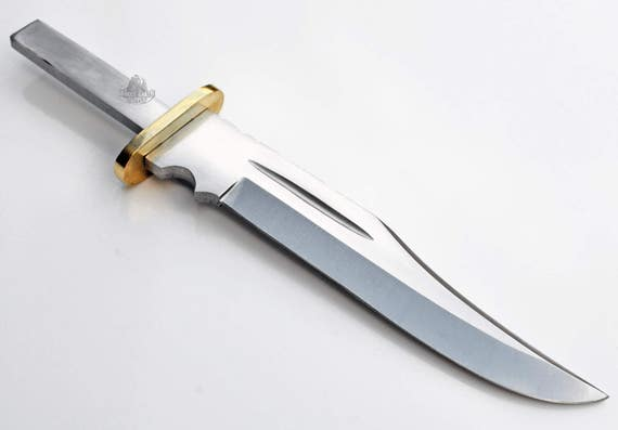 Large Clip Point 1095 Carbon Steel Knife Blanks Blades Custom Etsy