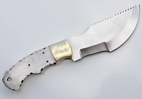 Tracker 1095 Carbon Steel Large Knife Custom Knives Blades Etsy