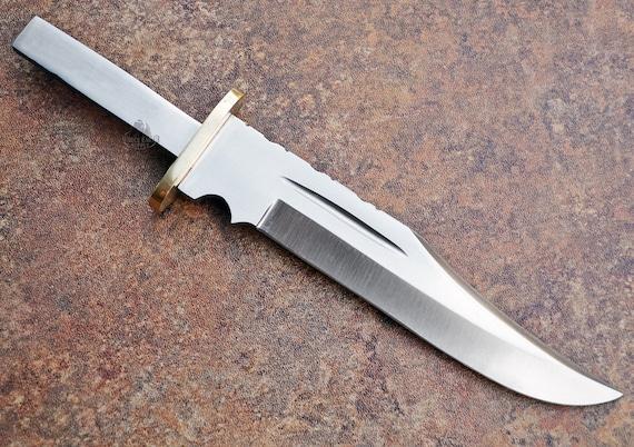 Large Clip Point D2 D 2 Steel Knife Blanks Blades Custom Knives Etsy