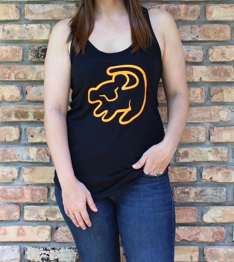 1b27aadb8c68c0 Disney Inspired Lion King Hakuna Matata Simba Tank for Women