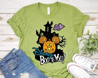 3015772d Boo To You Tee-Shirt - Mickey's Not So Scary Halloween Party -Vinyl - For  Family - Disney Vacation