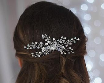 Bridal hair comb, Crystal hair comb, Bridal Headpiece, Wedding hair accessories, wedding headband, rhinestone hair comb, crystal headpiece