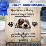 Pet Memorial, Pet Loss, Pet Loss Gift, Dog Frame Personalized, Memorial Frame, Pet Memorial Frame, Pet Sympathy Gift, Cat Loss, Cat Memorial