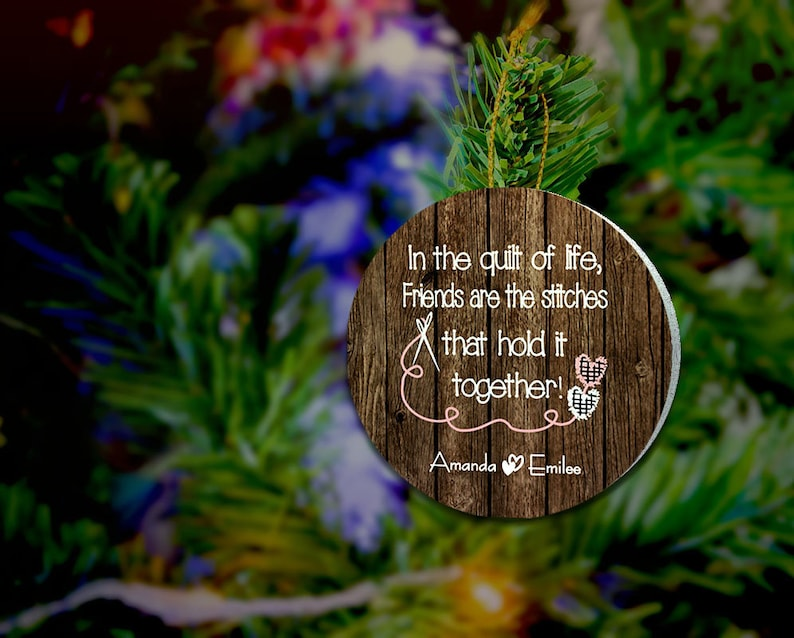Quilter Quilter Gifts Sewing OrnamentQuilter Ornament image 0