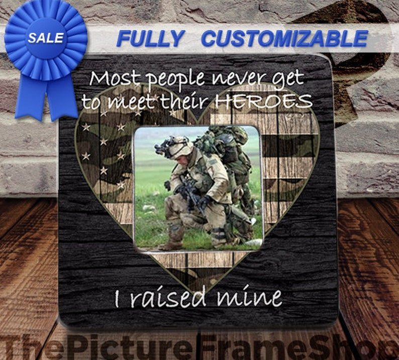 I Raised Mine I Raised My Hero Military Son Army Daughter image 0