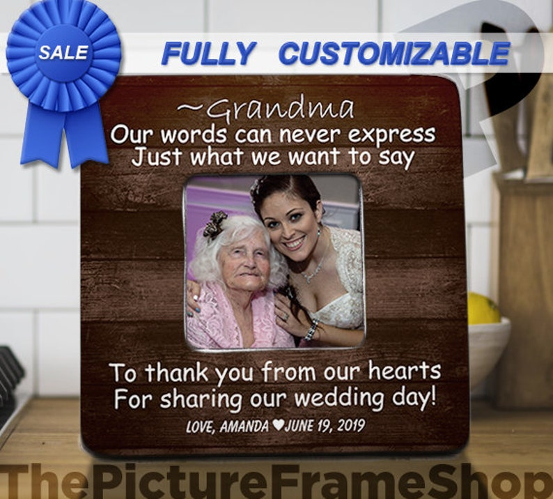 Grandma Wedding Gift to Grandma Wedding Gift to Grandpa Aunt image 0
