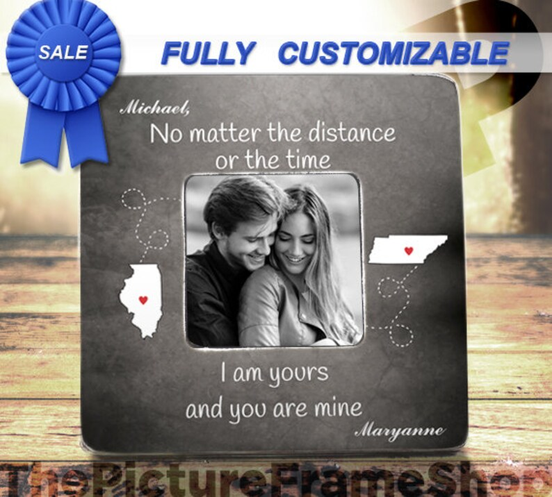 No Matter The Distance Or The Time I am Yours And You Are Mine image 0