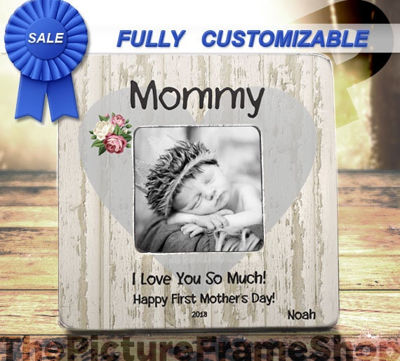 Best Mother\'s Day Gift 2018 First Mothers Day Custom Frame | Etsy