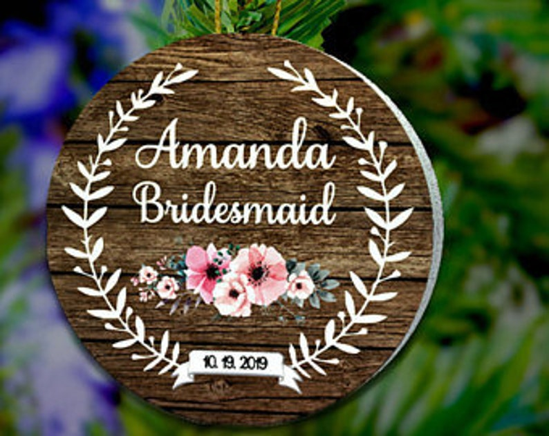 Bridesmaid Ornament Will You Be My Bridesmaid Proposal image 0