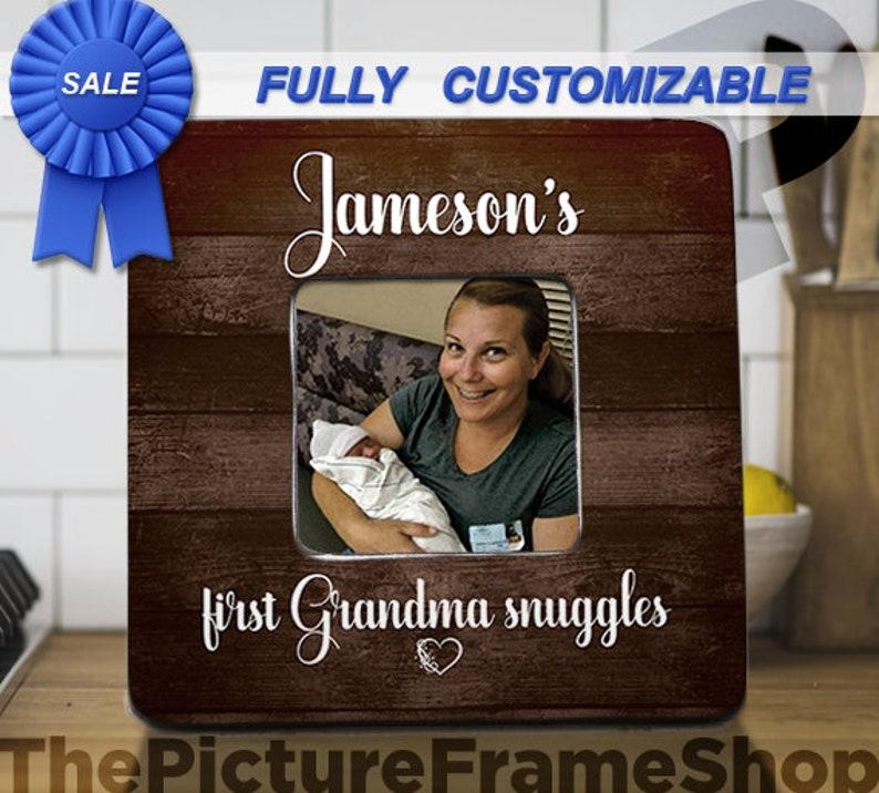 First Time Grandma Gift Grandma Frame First Time image 0