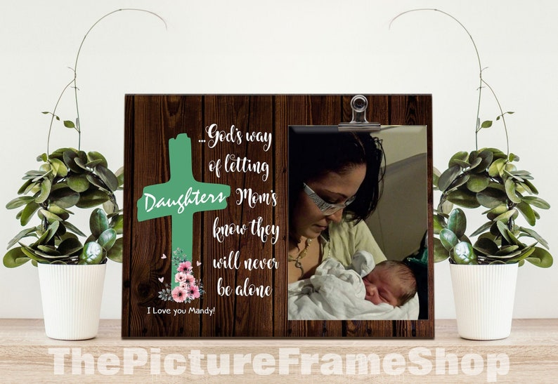 Mom Frame Mom Picture Frame New Mom Gift Mother's Day image 0