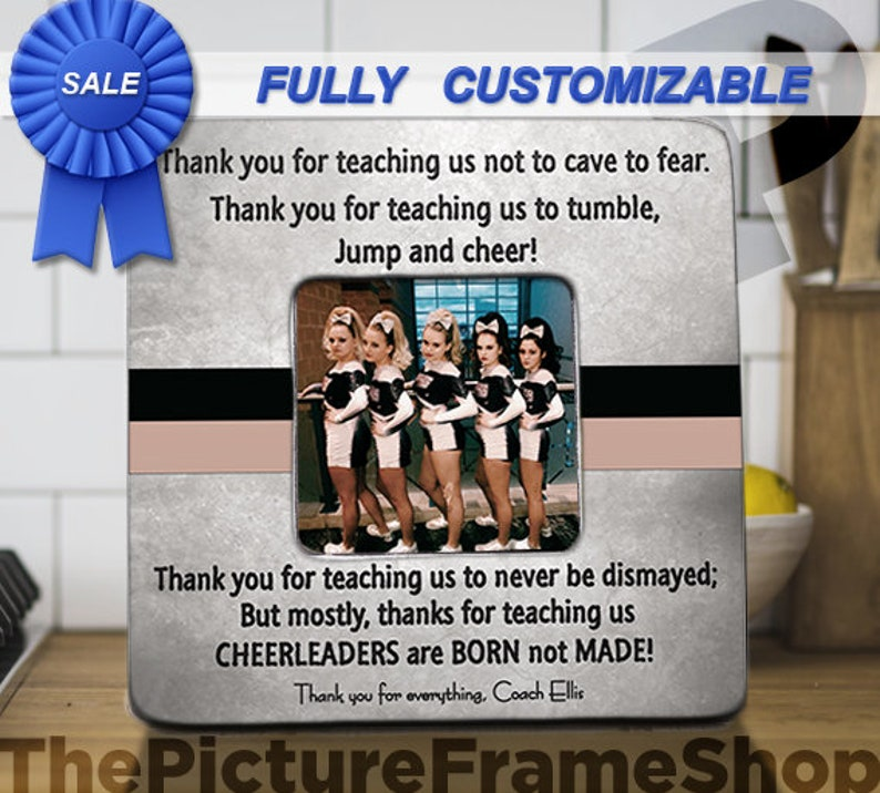 Cheerleader Coach Gift Cheer Coach Gift Cheerleader Coach image 0