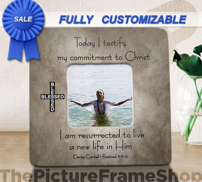 Adult Baptism Gift Teen Baptism I have Decided To Follow image 0