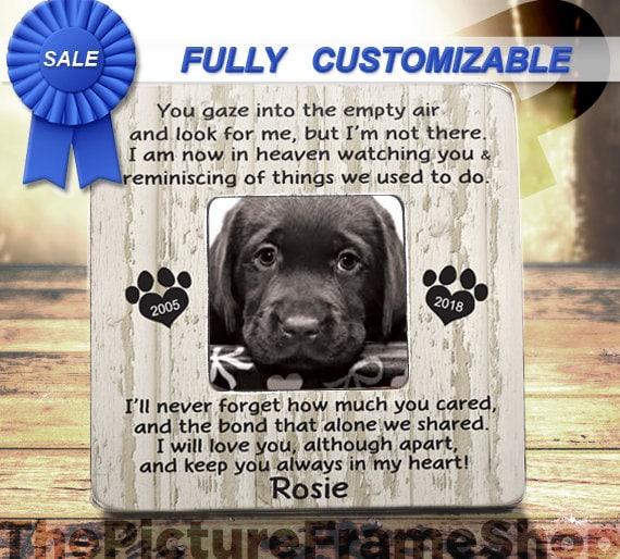 Loss Of Pet >> Pet Memorial Frame Pet Loss Of Dog Loss Of Cat Pet Bereavement Frame Dog Memorial Frame Cat Memorial Frame Dog Bereavement Cat Bereavement