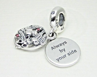 a272d91bd9a ... usa new authentic pandora charm bead always by your side dangle  797671czrmx 4b45c 74cd4