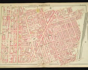 Antique Mantua Map Etsy