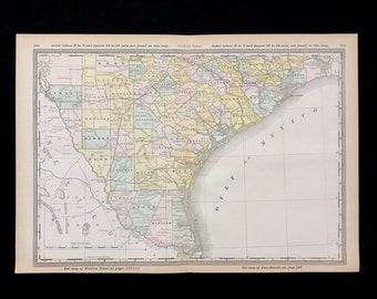Vintage map houston   Etsy on