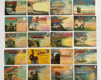 Souvenir postcard   Etsy
