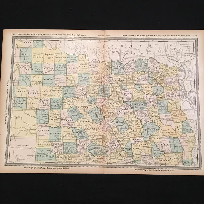 1887 Map of Northern Texas, Original Antique Map, Large Atlas Map for Map Of Northern Texas Cities on texas hill country, south texas, northeast texas, texas panhandle, texas map with all its cities, map of west texas cities, east texas, southeast texas, map of north central texas cities, large map of texas cities, google map of texas cities, west texas, big bend, map of northern west texas, map of oklahoma cities, map with all of texas, map of western tennessee cities, map of upstate new york cities, edwards plateau, texas region map with cities, show me a map of texas cities, map of southwest texas cities, map of all texas cities, south plains, gulf coastal plains, map of east texas cities and towns, permian basin, brazos valley, galveston bay, north texas map showing cities, map of southeast texas cities, map of texas listing cities, central texas, map of eastern north carolina cities, piney woods, city maps of texas cities,