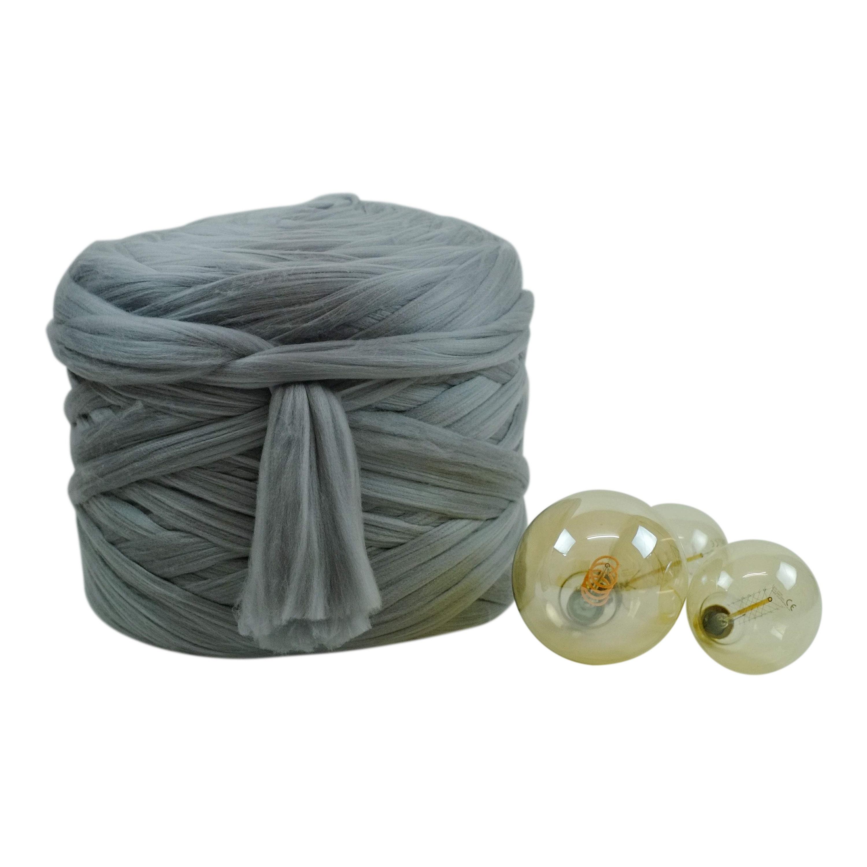 4kg Chocolate Brown Mammoth® Chunky Extreme Arm Knitting Merino Wool Like Yarn