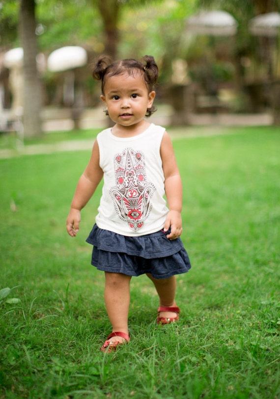 87174820676d Organic Bamboo Hamsa T-Shirt Toddler   Boy Shirt   Girl