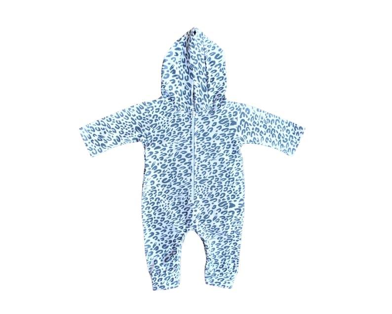 95dd816c4 Baby Romper   Animal Print Romper   Hoodie Romper   Onesie