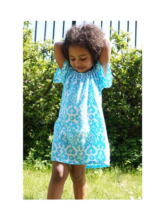 4t Girls Peasant Dress Girls Fall Dress Girls Clothing Etsy