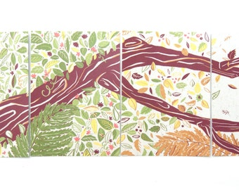 The Wild Wood postcard set. 4 A6.