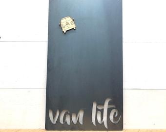 Van Life Magnetic Memo Board - Metal Van Life Decor