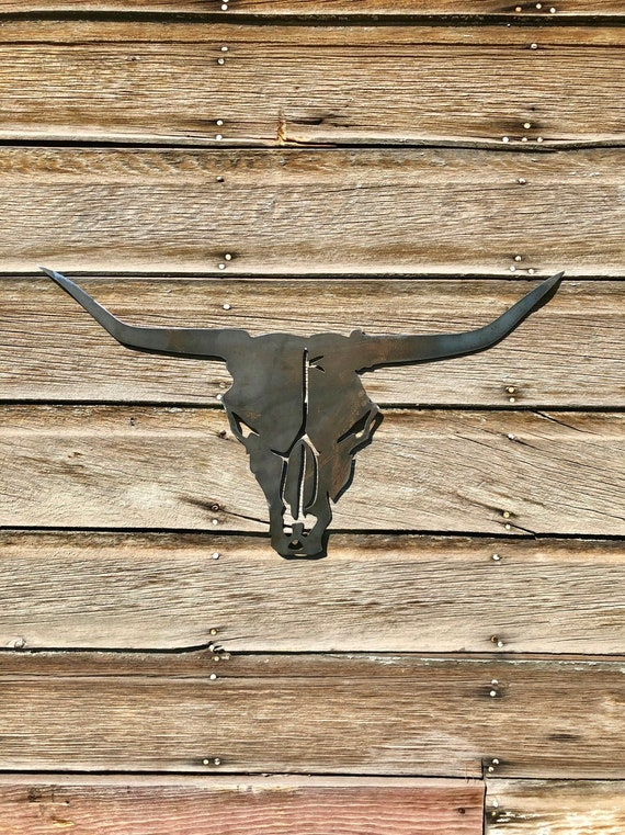 Animal Skull Man Cave Wall Decor ~
